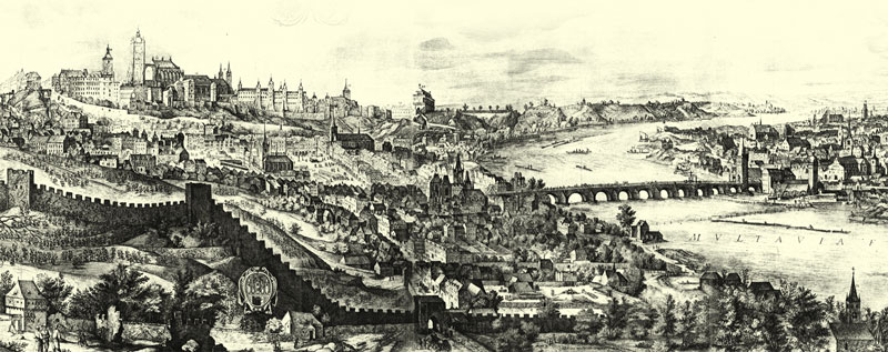 Picture of old Prague